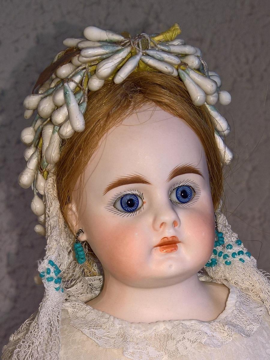 Антикварная немецкая коллекционная кукла Bahr & Proschild 207