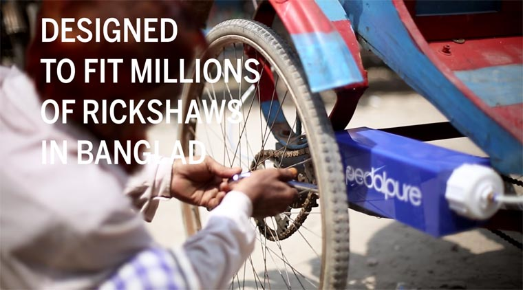 Pedal Pure - Purifying water in Bangladesh thanks to the rickshaws