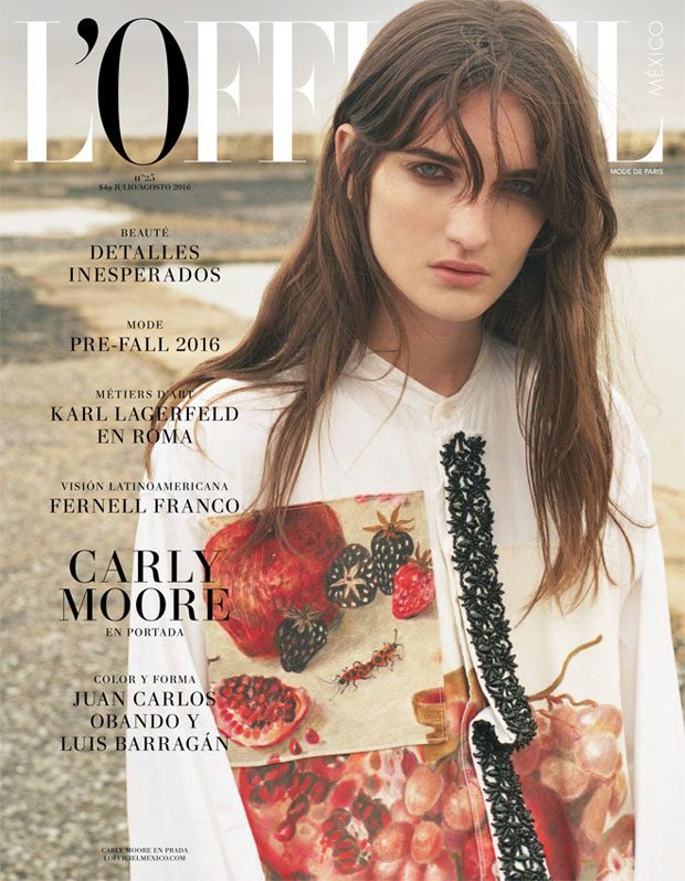 How does the way L'Officiel Mexico addresses its readers compare to the way L'Officiel Paris does? D