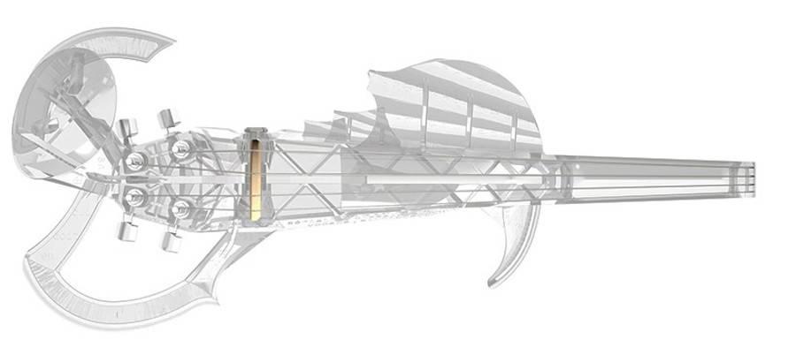 Playable 3D Printed Violin