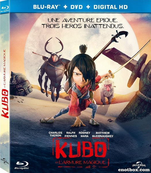 Кубо. Легенда о самурае / Kubo and the Two Strings (2016/BDRip/HDRip/3D)