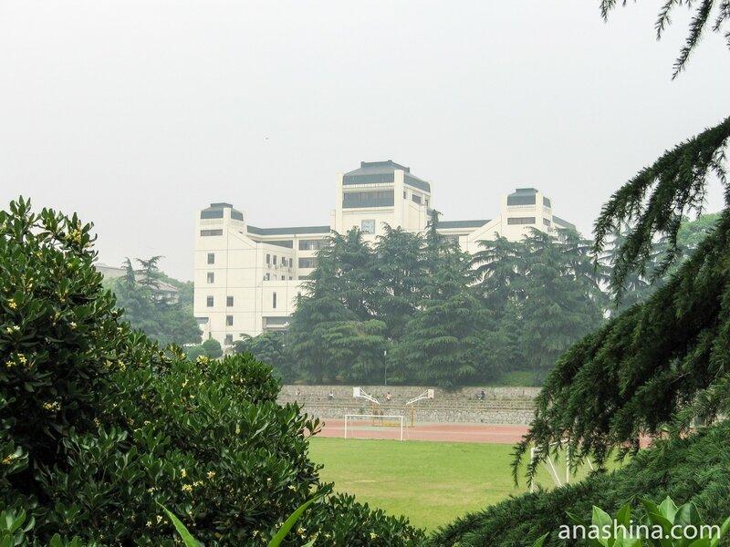 Ухань, Уханьский университет, Здание колледжа китайского языка и литературы и школы истории
