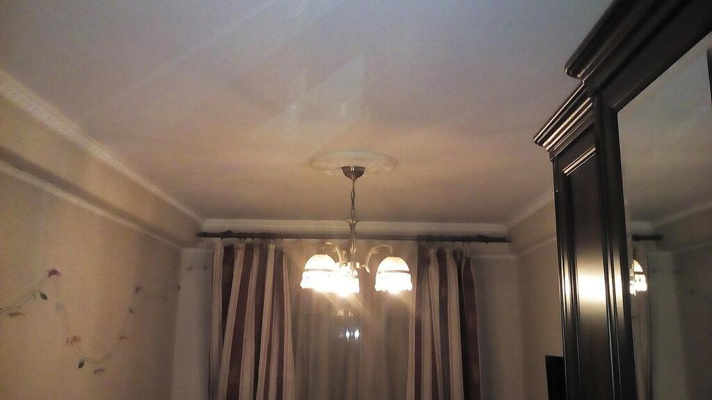 Как прикрепить люстру к потолку в доме 606-й серии