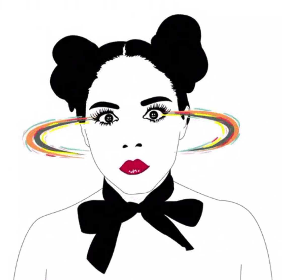 Les GIFs animes sensuels de Xaviera Lopez