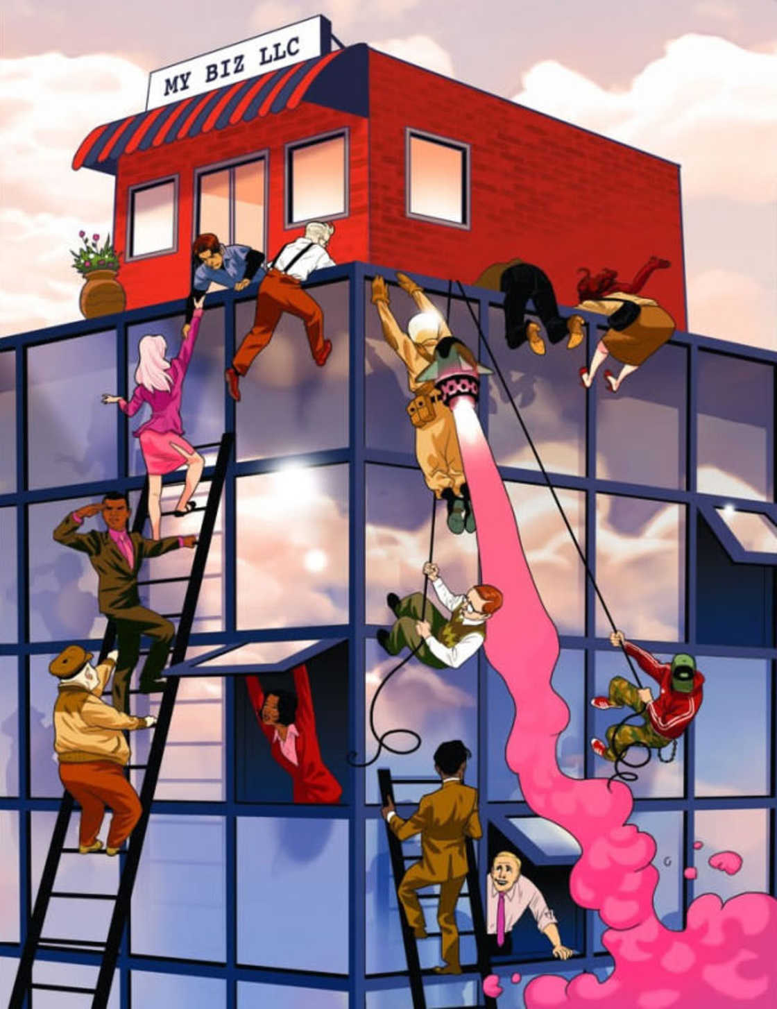 Realist Comics - Les illustrations puissantes et satiriques d'Asaf Hanuka