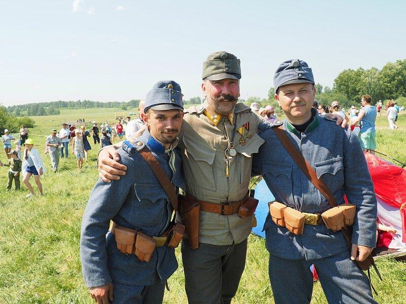 """Исторический фестиваль """"Сибирский огонь-2016"""" (Historical festival """"Siberian fire-2016"""")"""