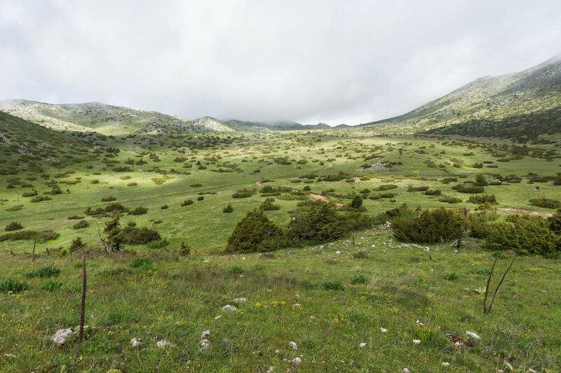 долина на горе Митсикели (Mitsikeli), Загория, Греция