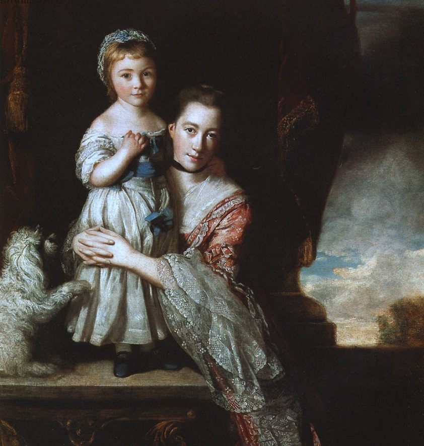 Рейнолдс Графиня Спенсер с дочерью Джорджианой.jpg