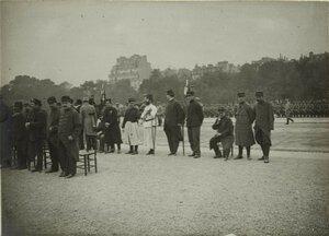 1915. Эспланада Инвалидов.  Церемония награждения