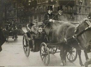 1918. Визит во Францию короля Италии Виктора Эммануила III 19 декабря