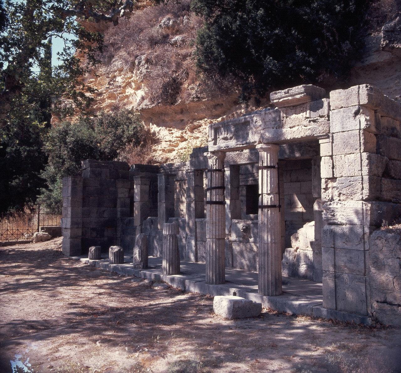Ялиссос. Дом с фонтаном