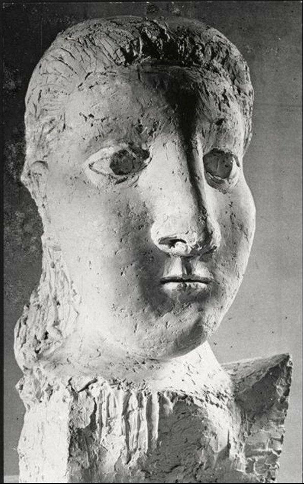 1943. Бюст Доры Маар (1941) Пикассо