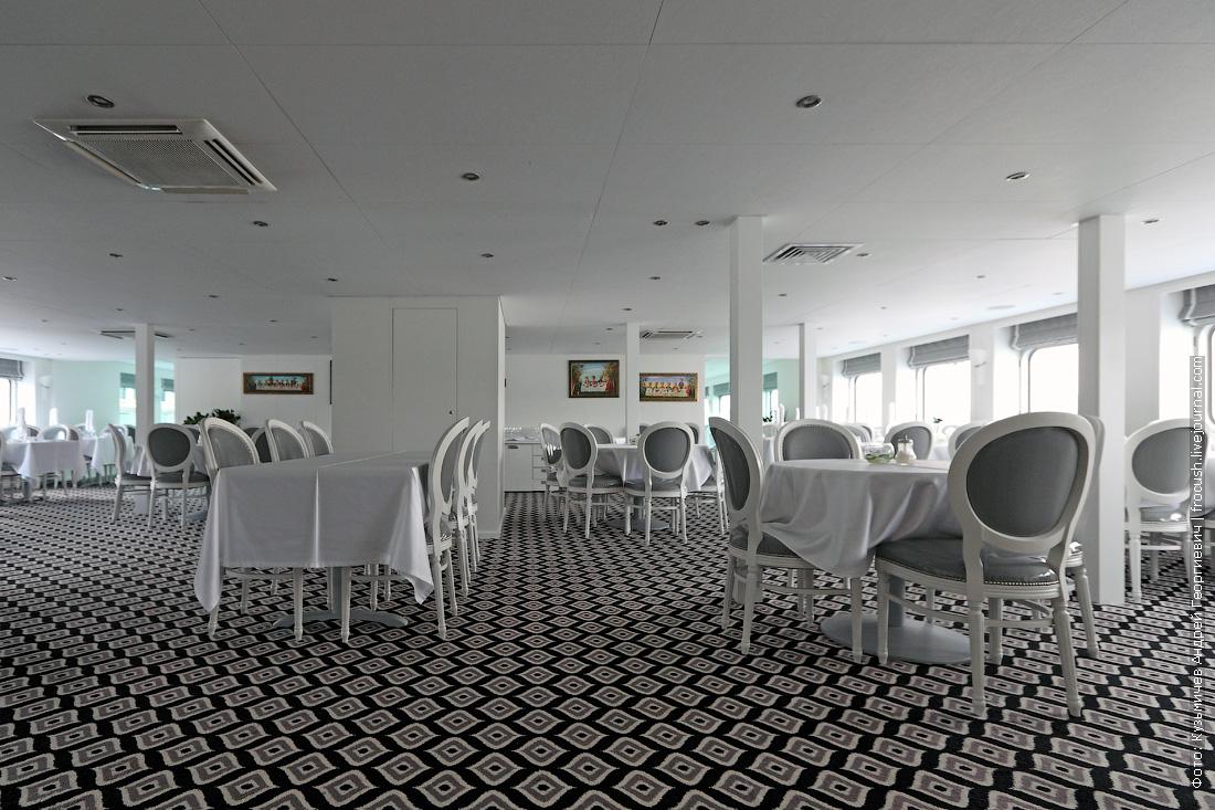 теплоход княжна виктория ресторан пушкин