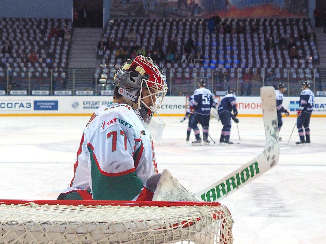 11 Первая игра финала плей-офф восточной конференции 2017 Металлург - АкБарс 24.03.2017