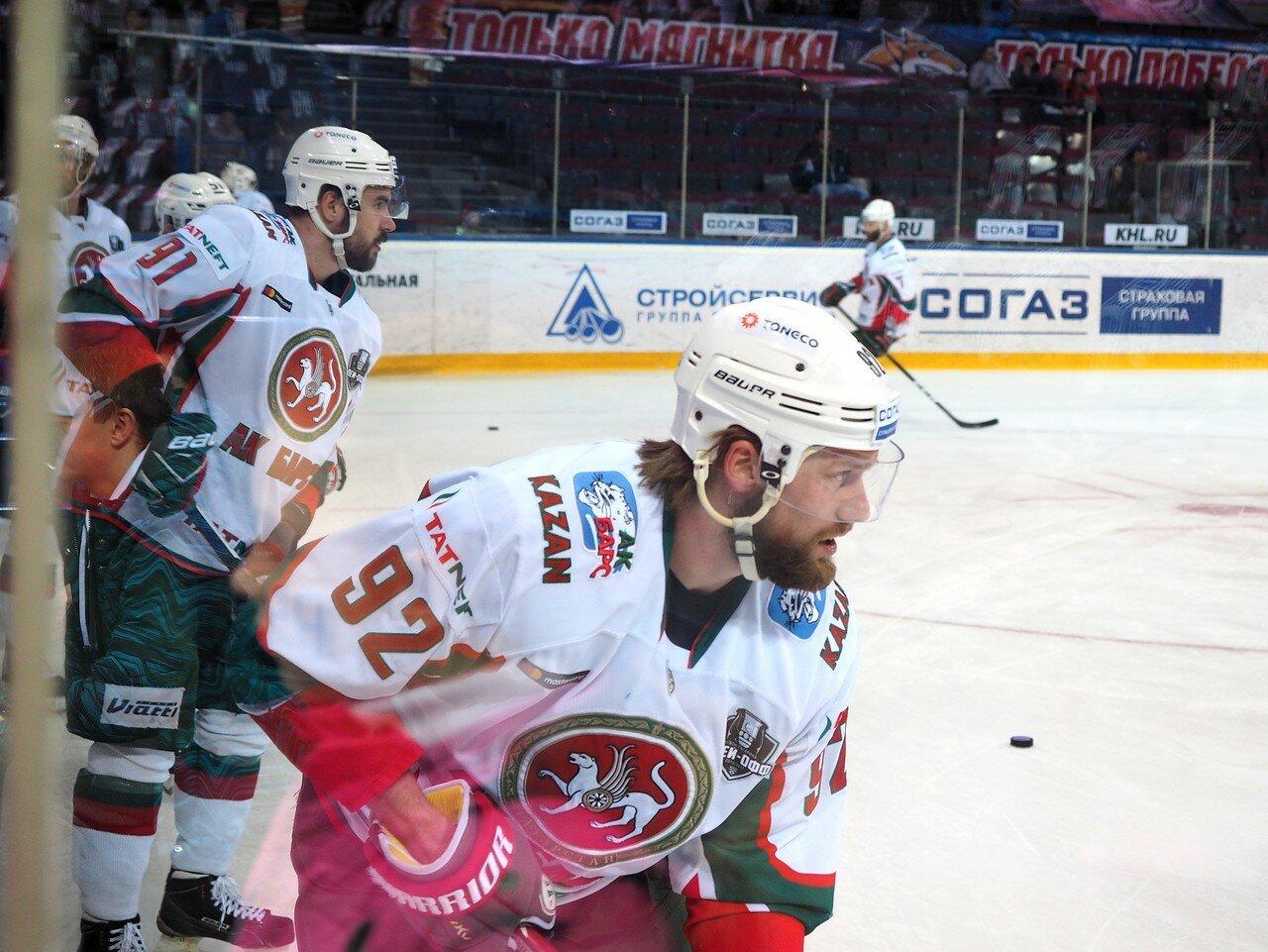 10 Первая игра финала плей-офф восточной конференции 2017 Металлург - АкБарс 24.03.2017