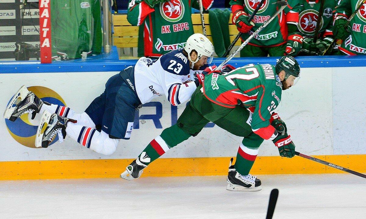 Третья и четвертая игра финала плей-офф восточной конференции 2017 АкБарс - Металлург