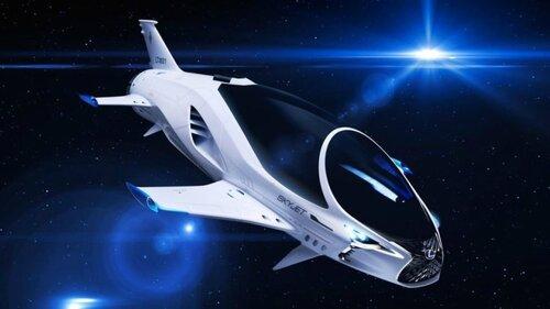 Компания Lexus разработала космический корабль для фильма Бессона