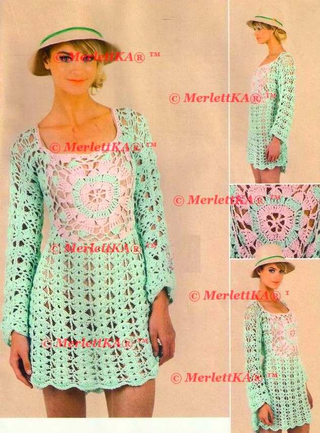 Красивые платья туники