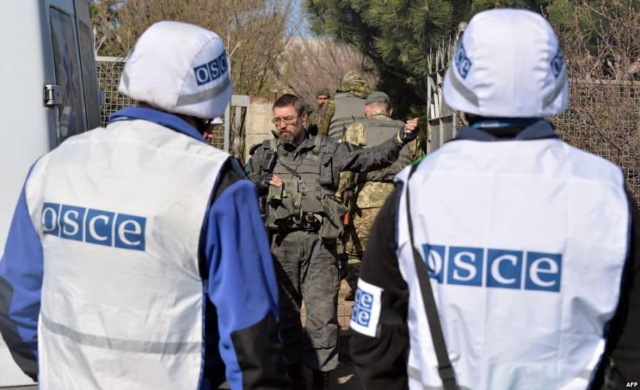 Боевики ограничили передвижение наблюдателей в Станице Луганской, - ОБСЕ