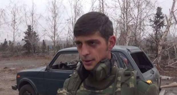 Террорист Гиви заявил, что никуда не убегает из Донбасса