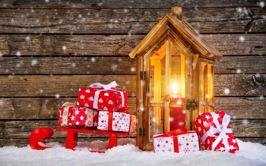 Новый год Подарки Картинки