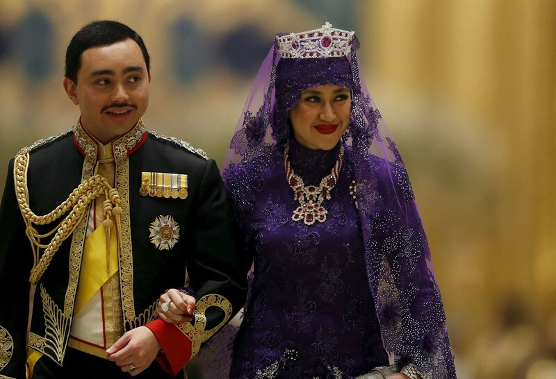 Бруней и роскошная свадьба будущего султана Брунея