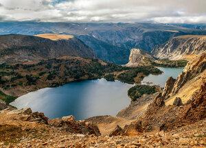 Озеро на вершине мира...