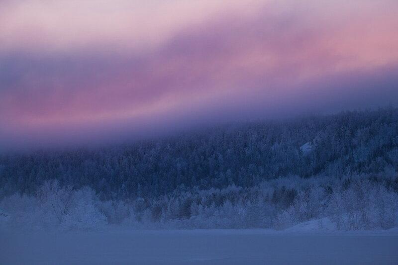 Сибирь. Зима. Как же сфотографировать стужу?