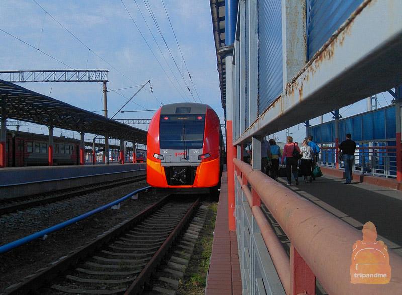 Поезд подобной конструкции используется во многих странах мира