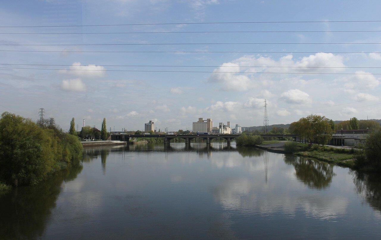 Мец. Набережные реки Мозель
