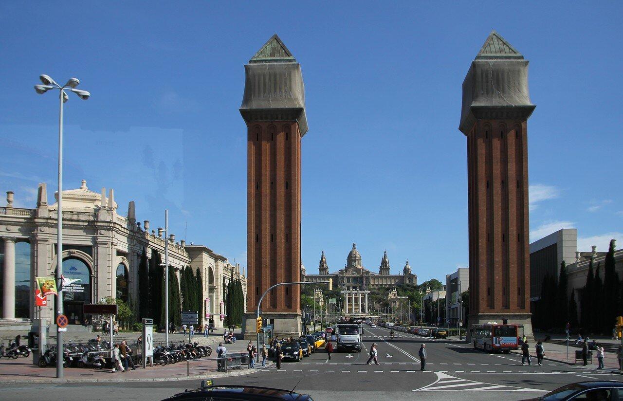 Венецианские башни (Torres Venecianes), Барселона