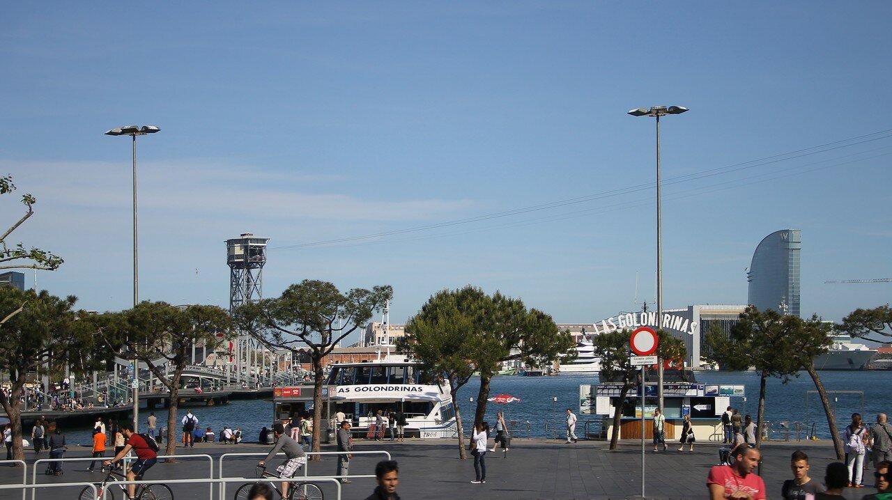 Барселона, Набережная Драссанес (Moll de les Drassanes)