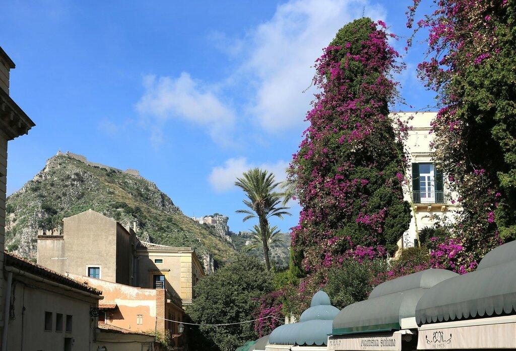 Taormina. Greek theatre street (Via Teatro Greco)