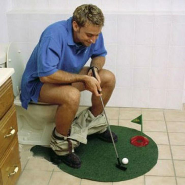 А почему бы не поиграть в гольф?