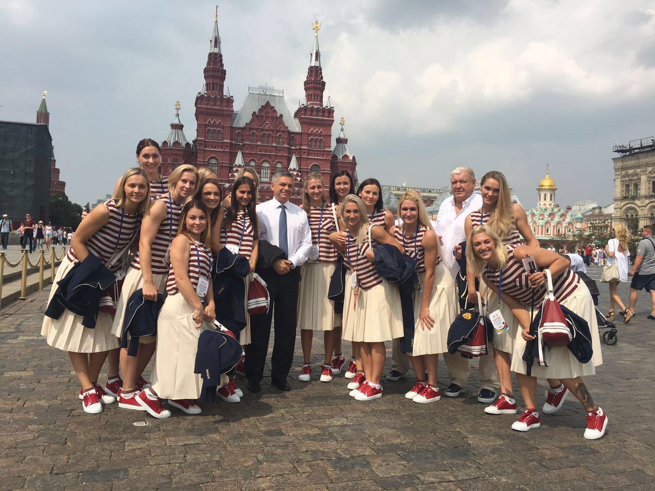 Женская сборная России по гандболу на играх в Рио (22 фото)