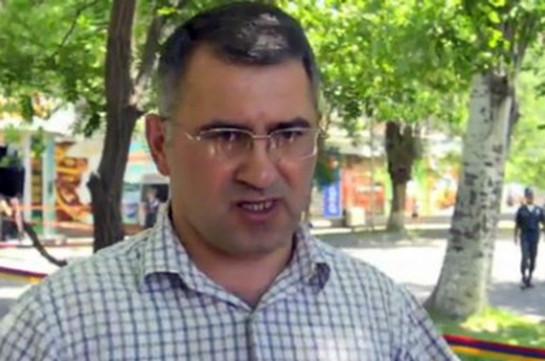 Армянский оппозиционер Армен Мартиросян освобожден под залог