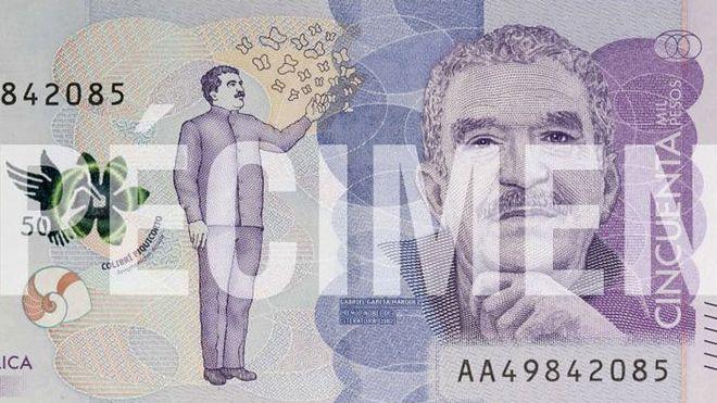 На отчизне Габриэля Гарсиа Маркеса выпустили банкноту сего изображением