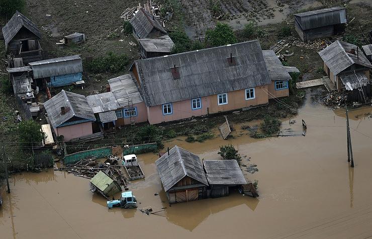 Ливни итайфун нанесли Приморскому краю вред в1,2 млрд руб.