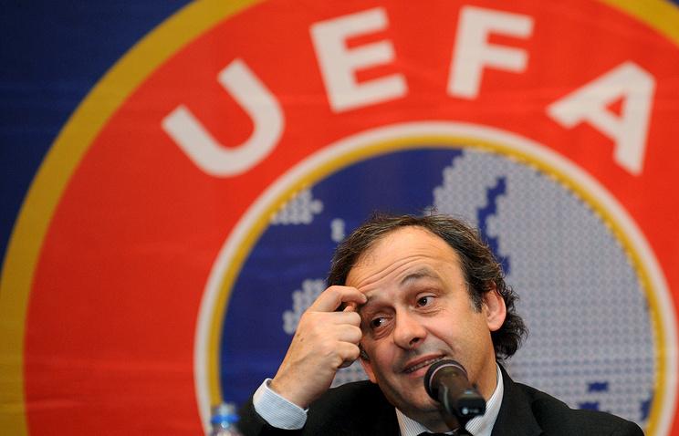 Платини официально объявил обуходе споста президента УЕФА