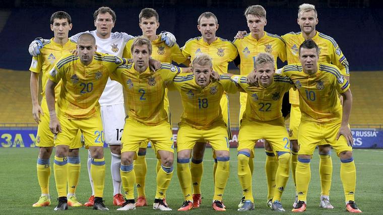 Сборная Украины поднялась на29 место рейтинга ФИФА