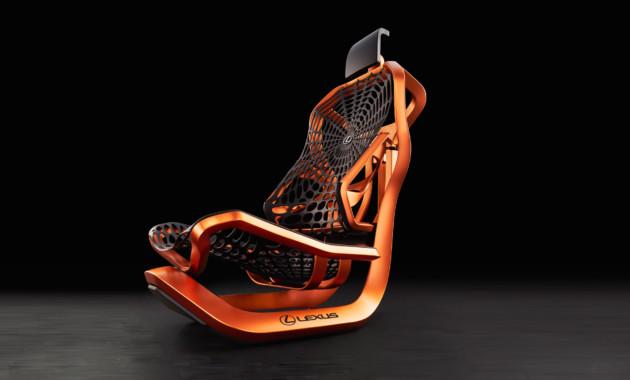 Лексус привезет вПариж кинетическое кресло спаутиной