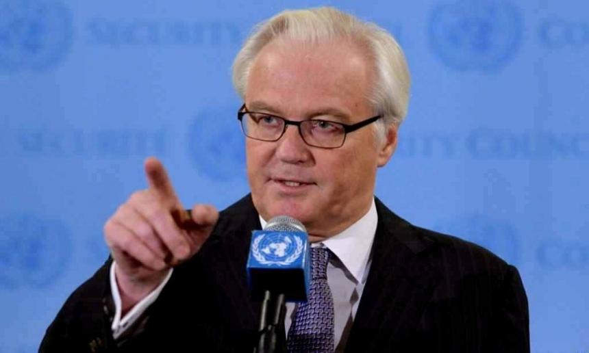 Чуркин назвал «первейшую» цель Российской Федерации вСирии иИраке