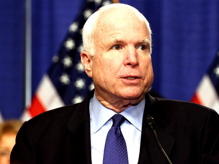 Сенатор Маккейн обвинил Обаму вутрате США мирового лидерства