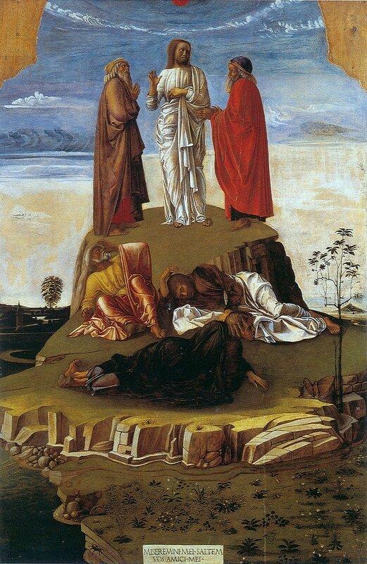 Giovanni Bellini. Trasfigurazione di Cristo