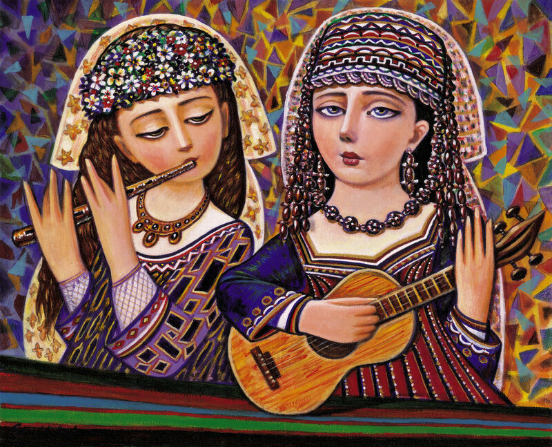 Армянский художник Севад Григорян