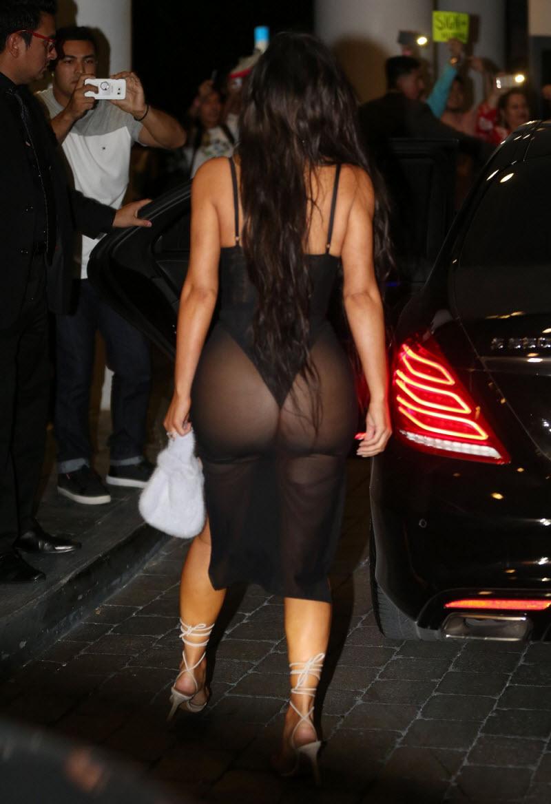 Проблемы с одеждой у Ким Кардашьян