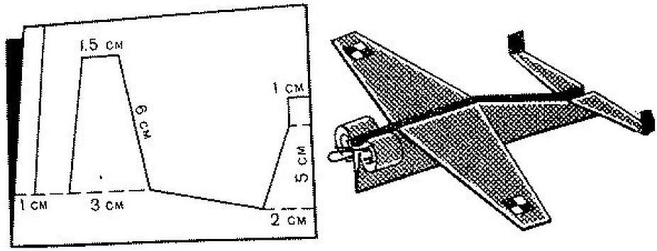 Собрать модель самолета из картона своими руками чертежи и схемы