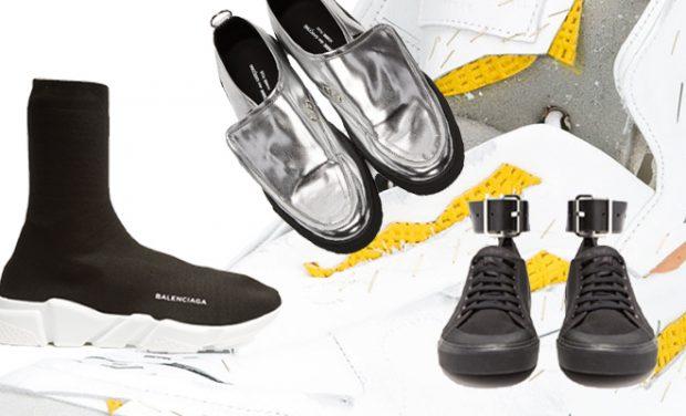 DESIGN SCENE TOP 10: Men's Sneakers For Spring 2017