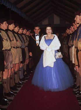 Королева  Елизавета II ,  50-ые  годы  ХХ века.