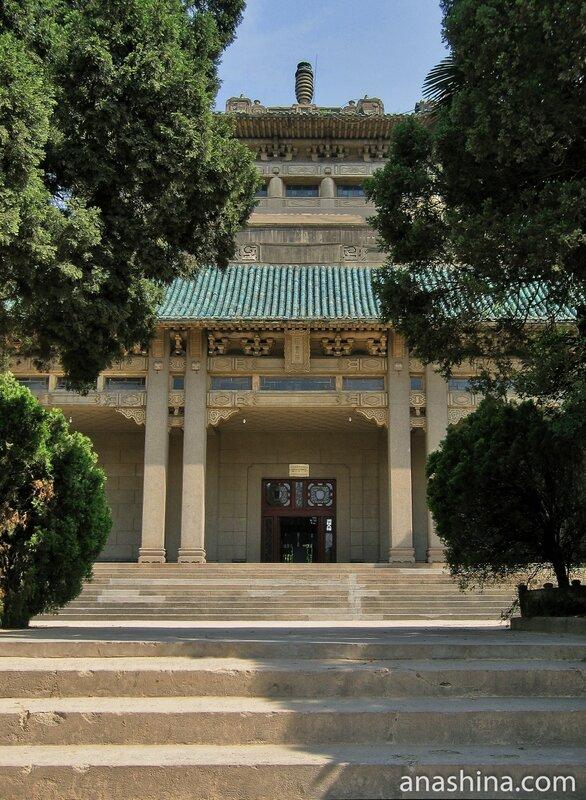 Корпус бывшей Библиотеки, Уханьский университет, Ухань